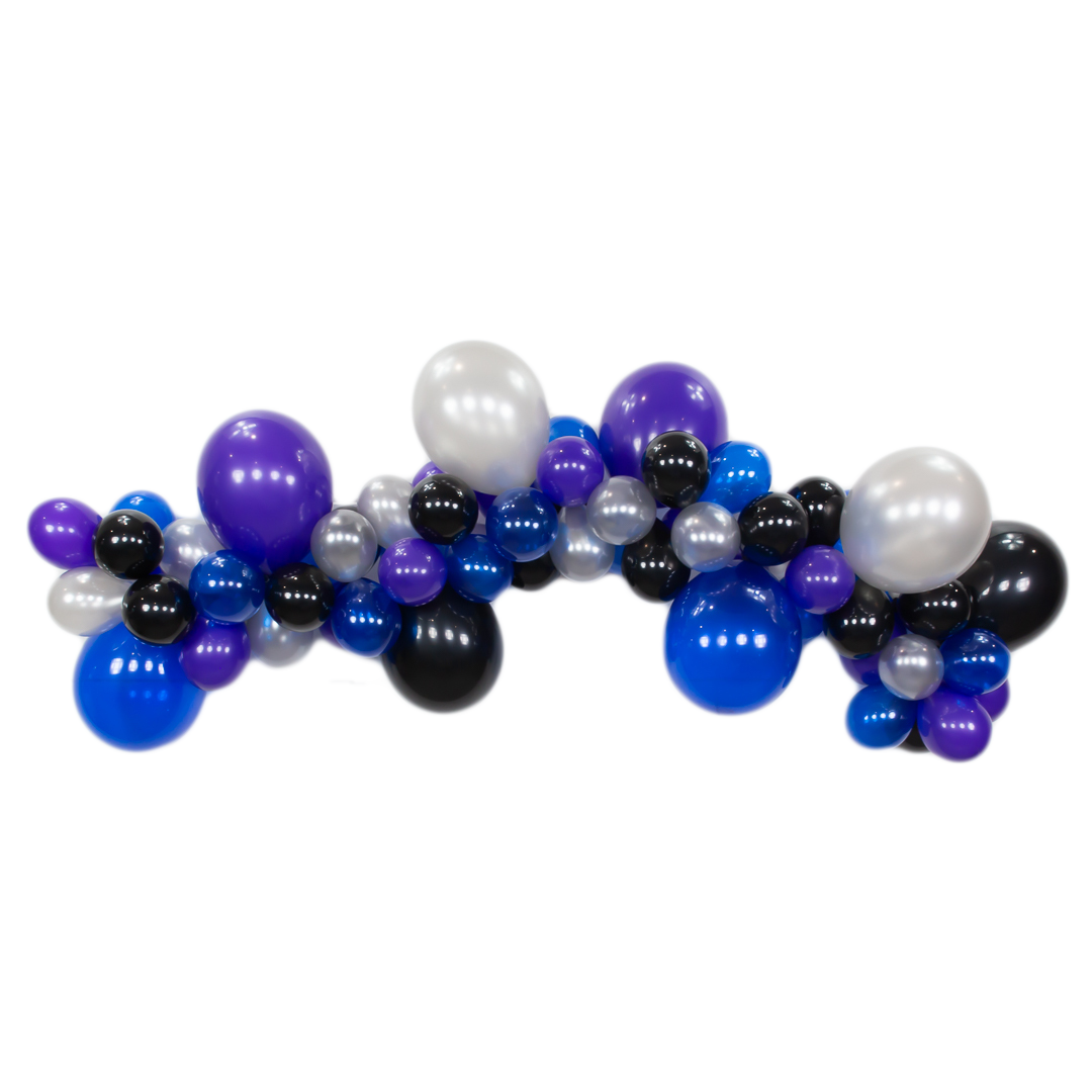 Space Galaxy DIY Balloon Garland Kit 6ft | The Party Darling