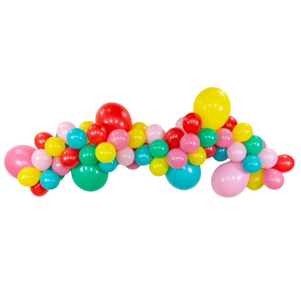 Hip Hip Hooray Balloon Garland Kit - 6ft.