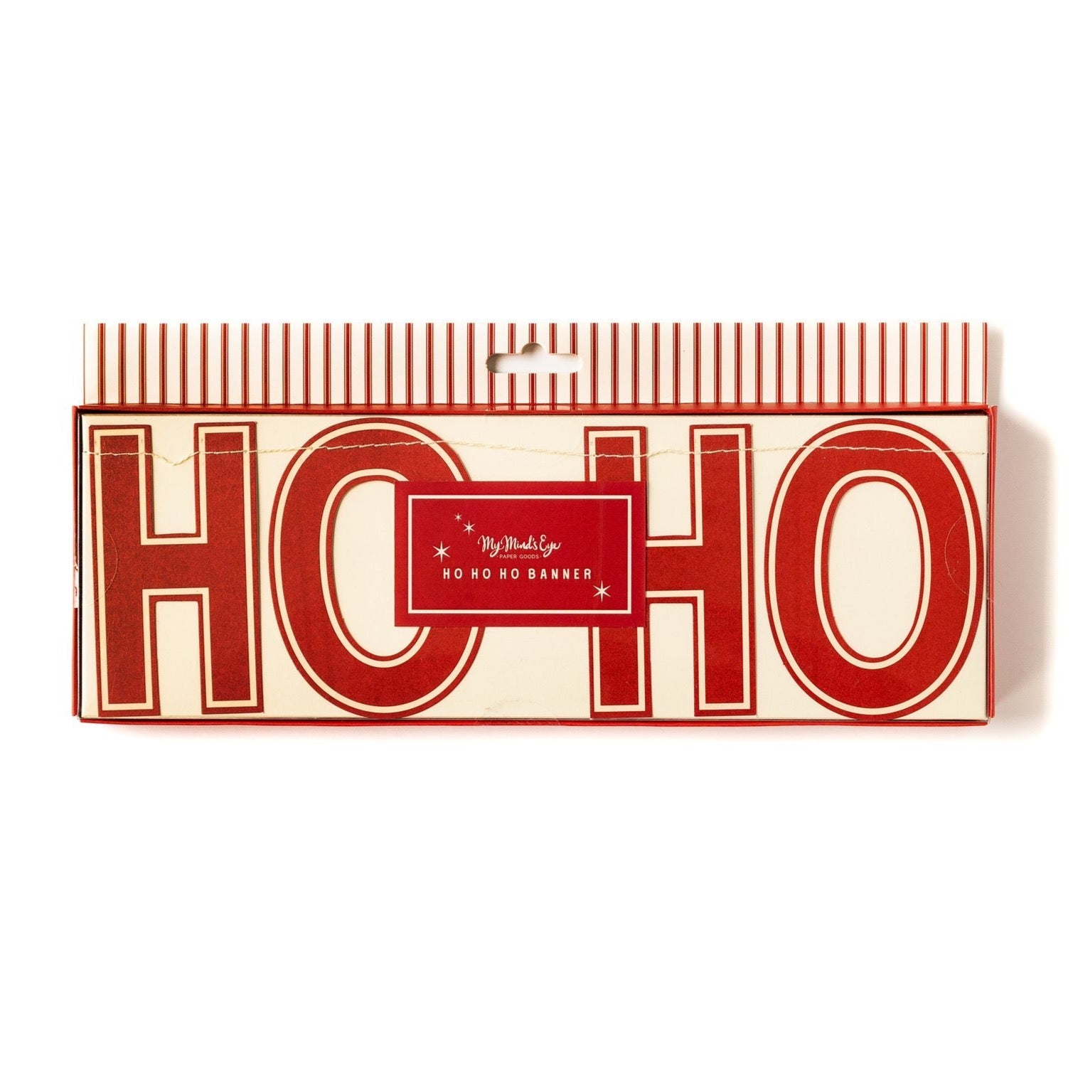 HO HO HO Christmas Letter Banner | The Party Darling