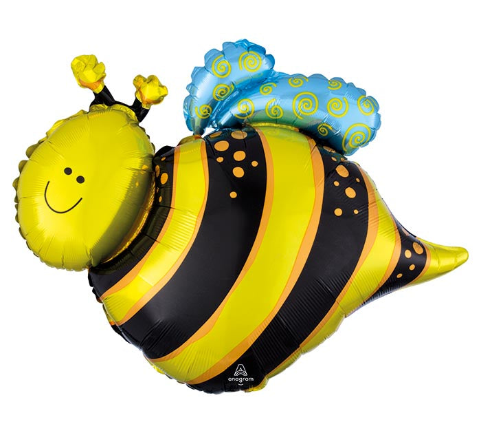 Honey Bee Foil Balloon 25"