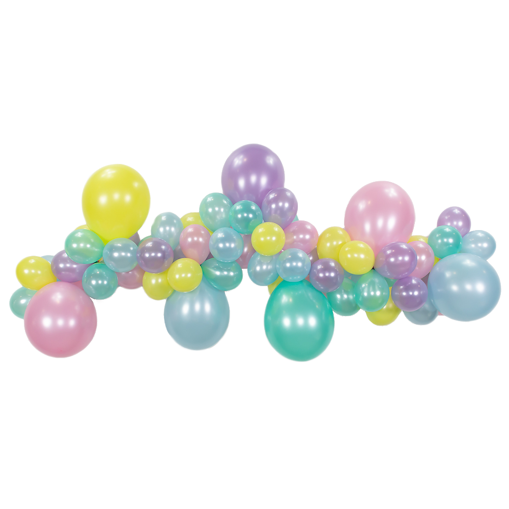 Pastel Ice Cream Balloon Garland Kit - 6ft.