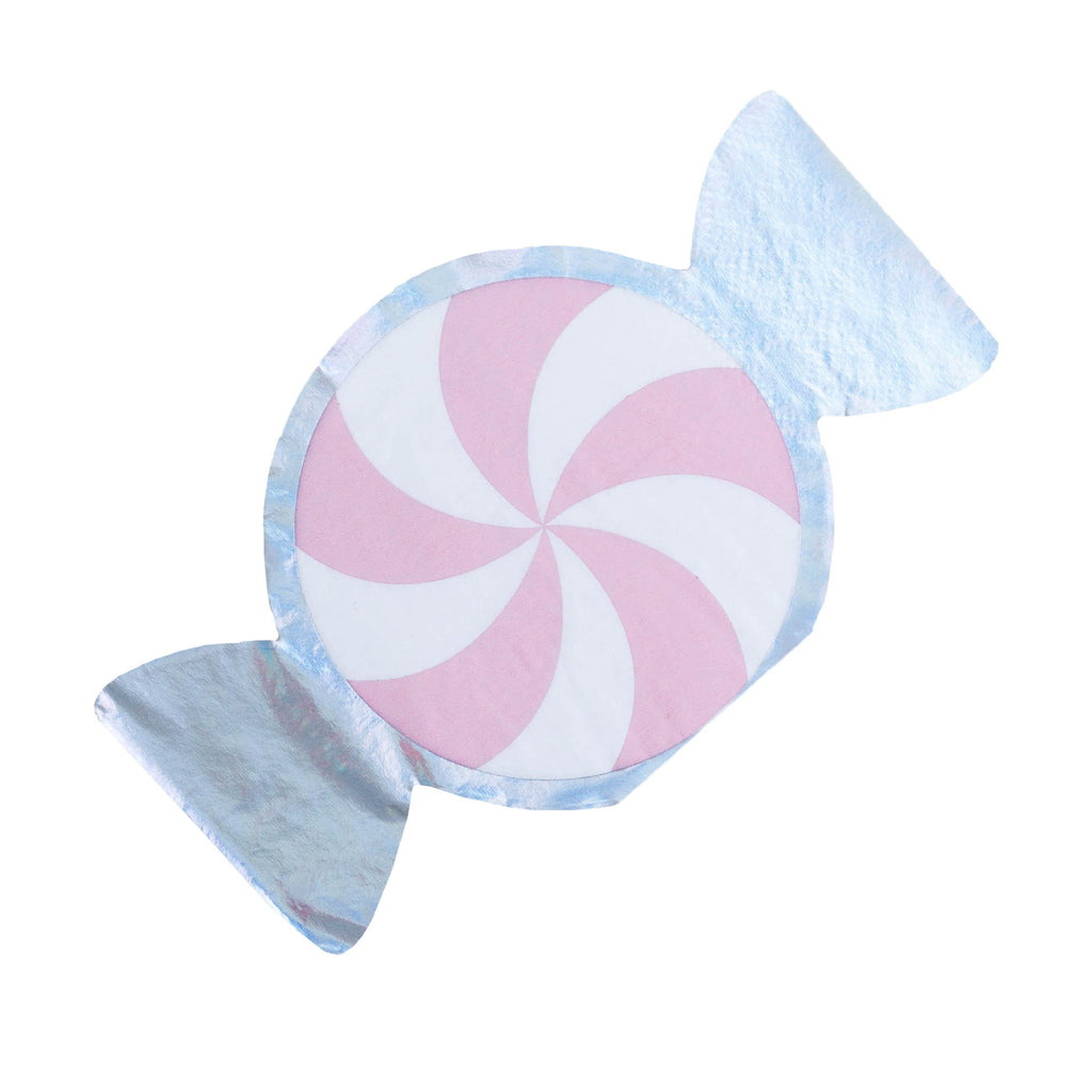 Pink Peppermint Napkins