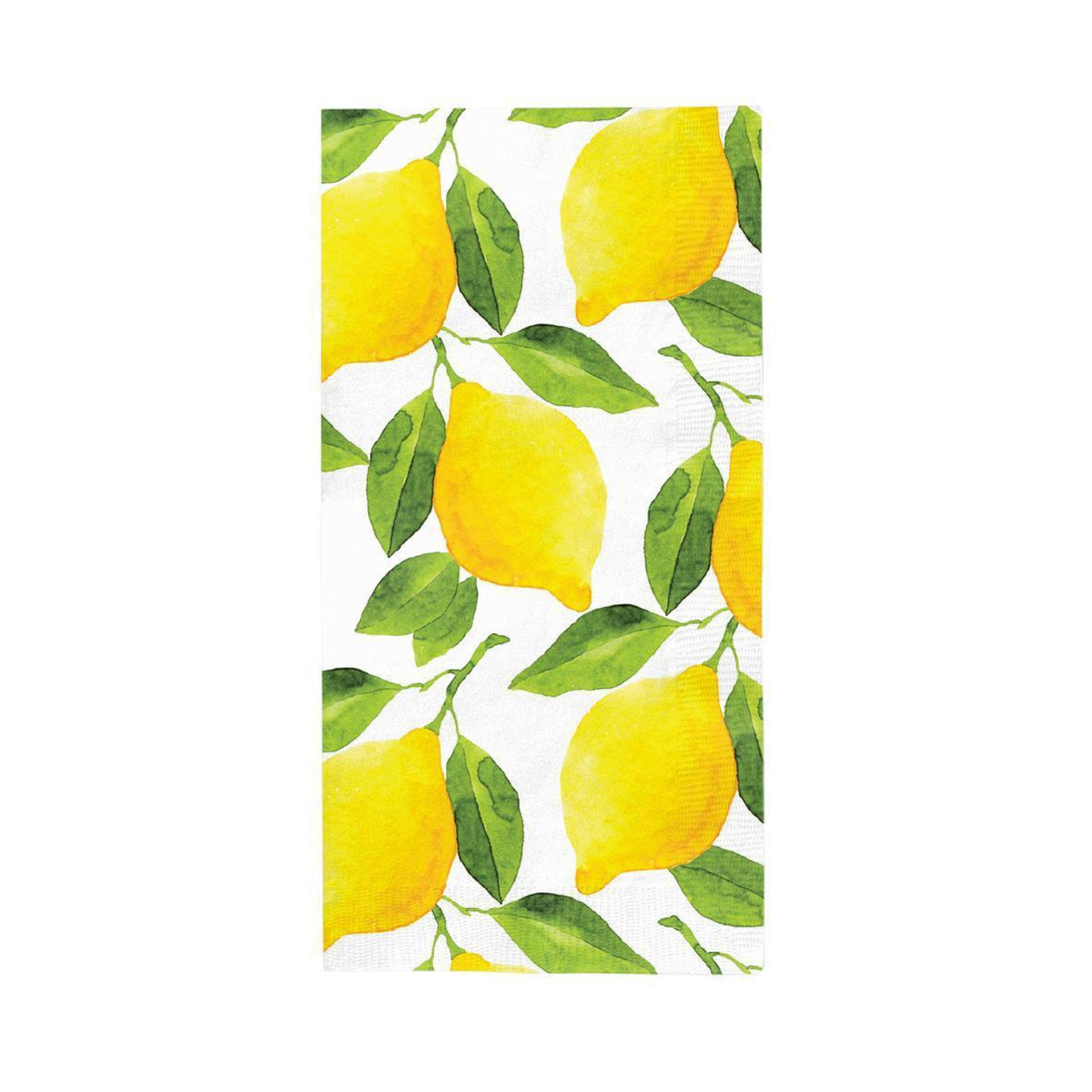 Citrus Lemon Paper Guest Towels