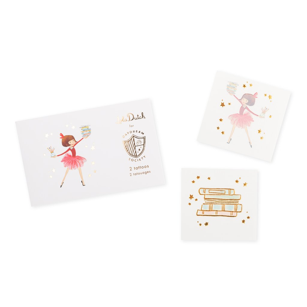 Lola Dutch Temporary Tattoos | The Party Darling