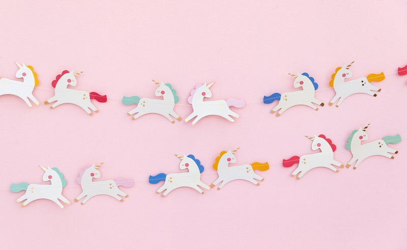 Magical Unicorn Banner 6ft - The Party Darling