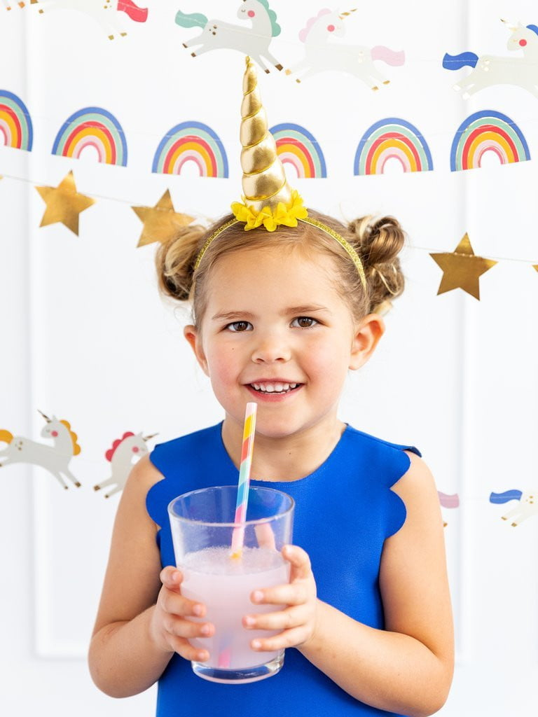 Magical Rainbow Reusable Straws - The Party Darling