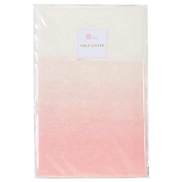 Pastel Pink Paper Table Cover Pack
