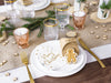 Christmas Napkins Table Setting