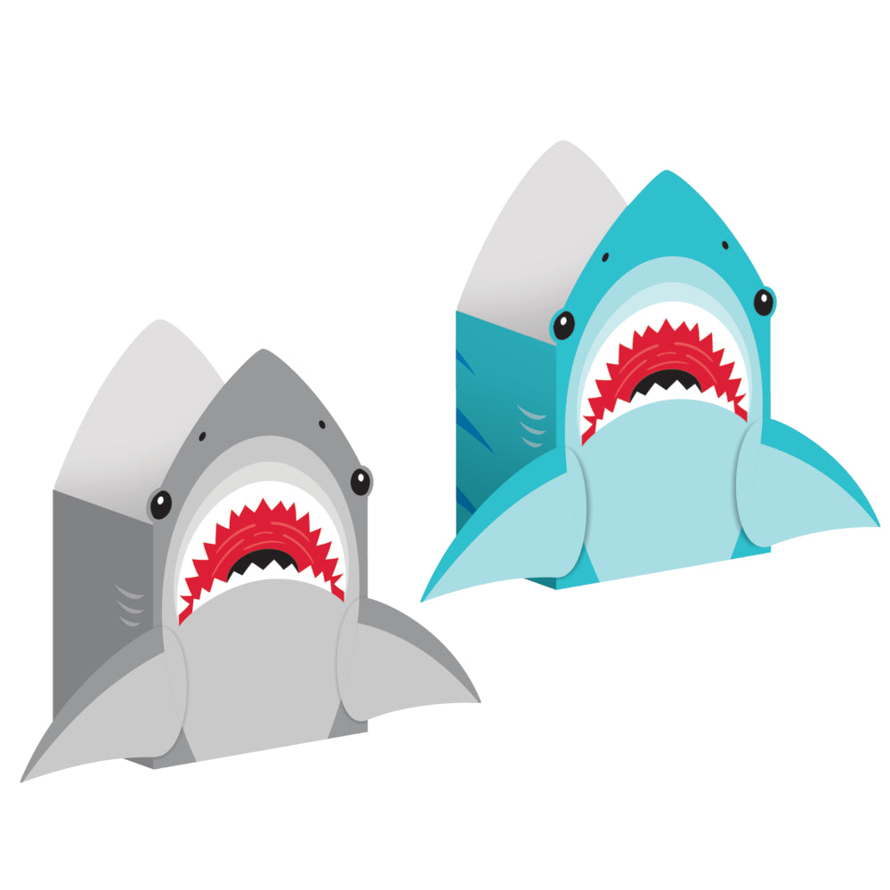 Shark Paper Treat Bags 8ct | The Party Darling