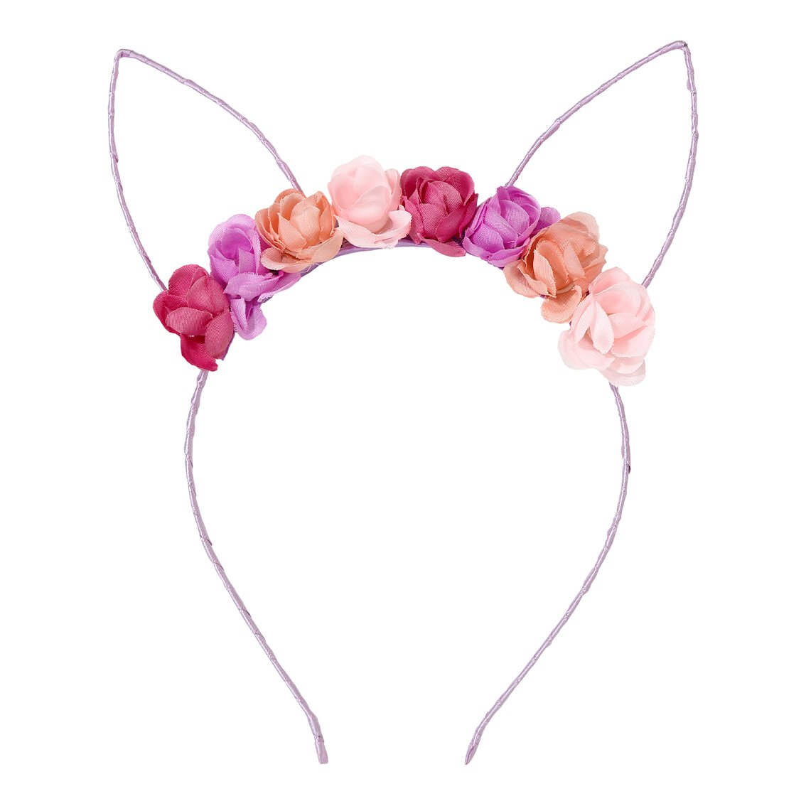 Floral Bunny Ears Headband  | The Party Darling