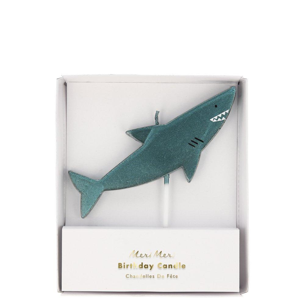 Under the Sea Shark Birthday Candle | The Party Darling