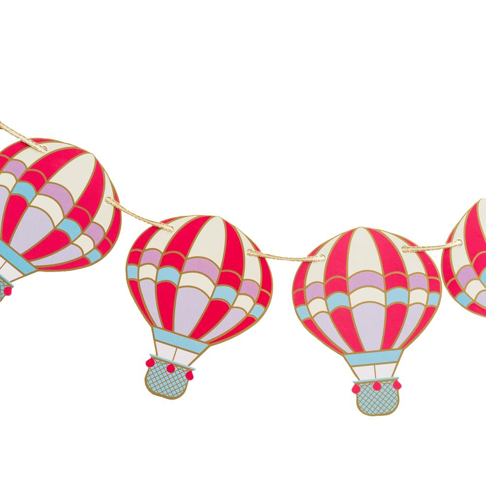 Up, Up, & Away Hot Air Balloon Banner | The Party Darling