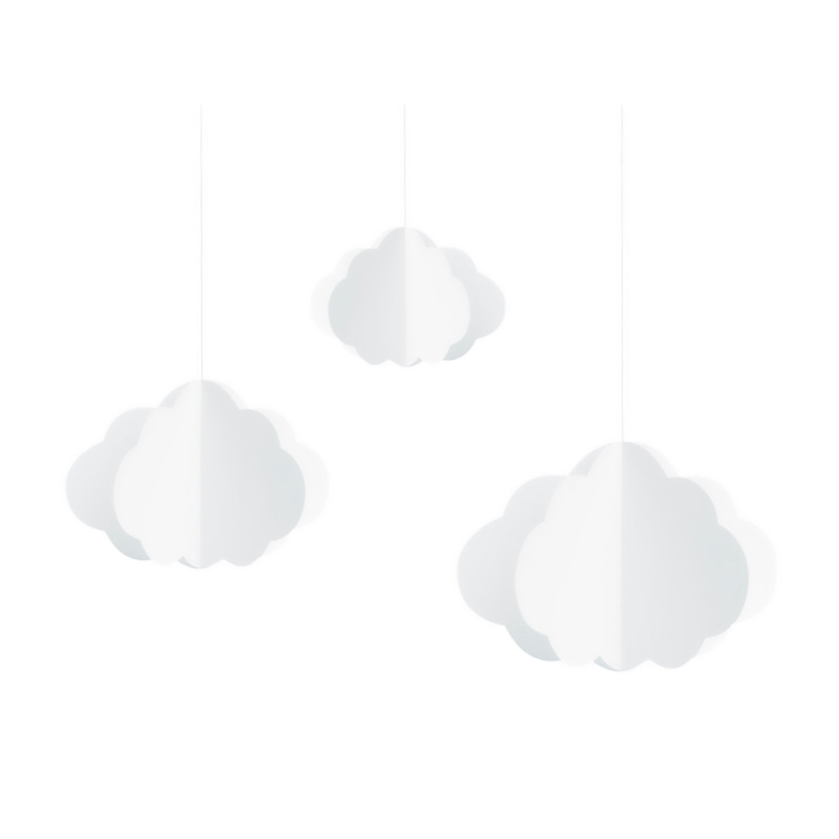 White Cloud Hanging Decorations | The Party Darling
