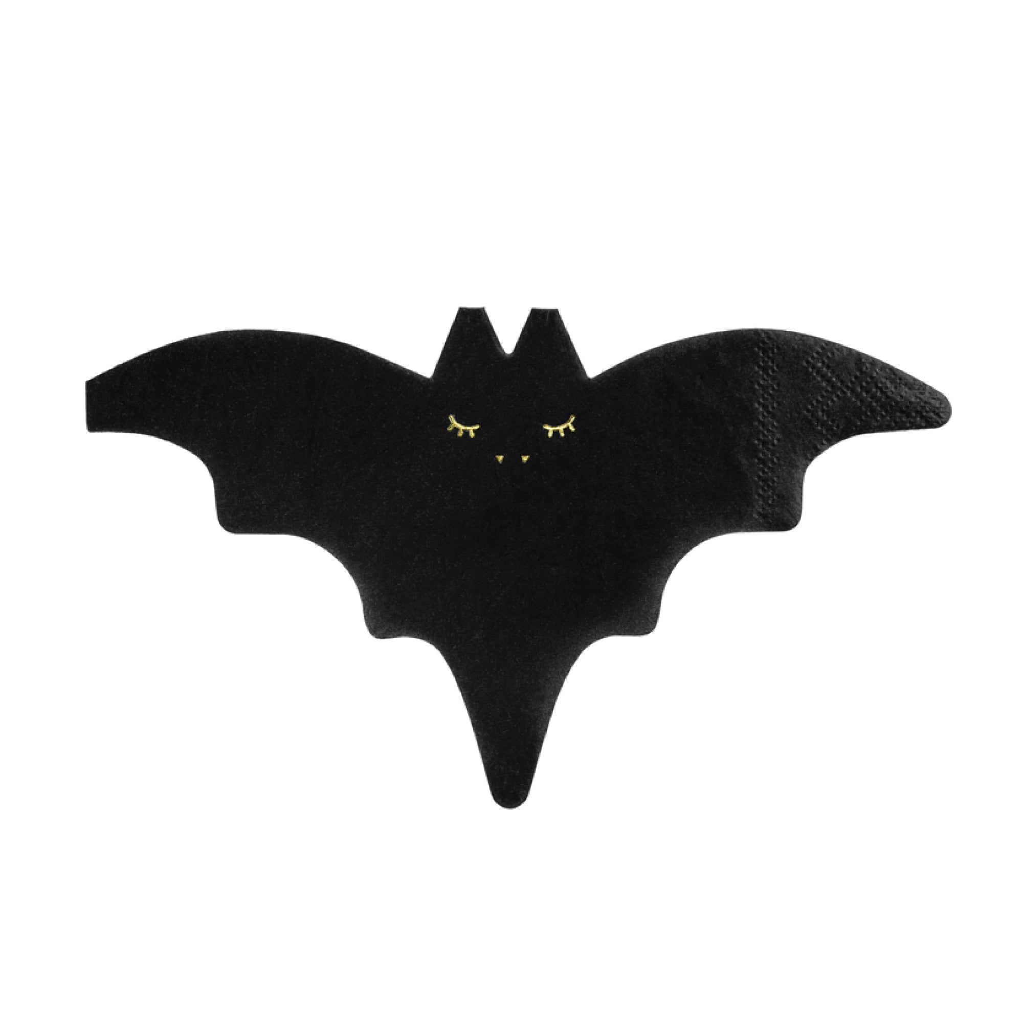 Black Bat Beverage Napkins | The Party Darling