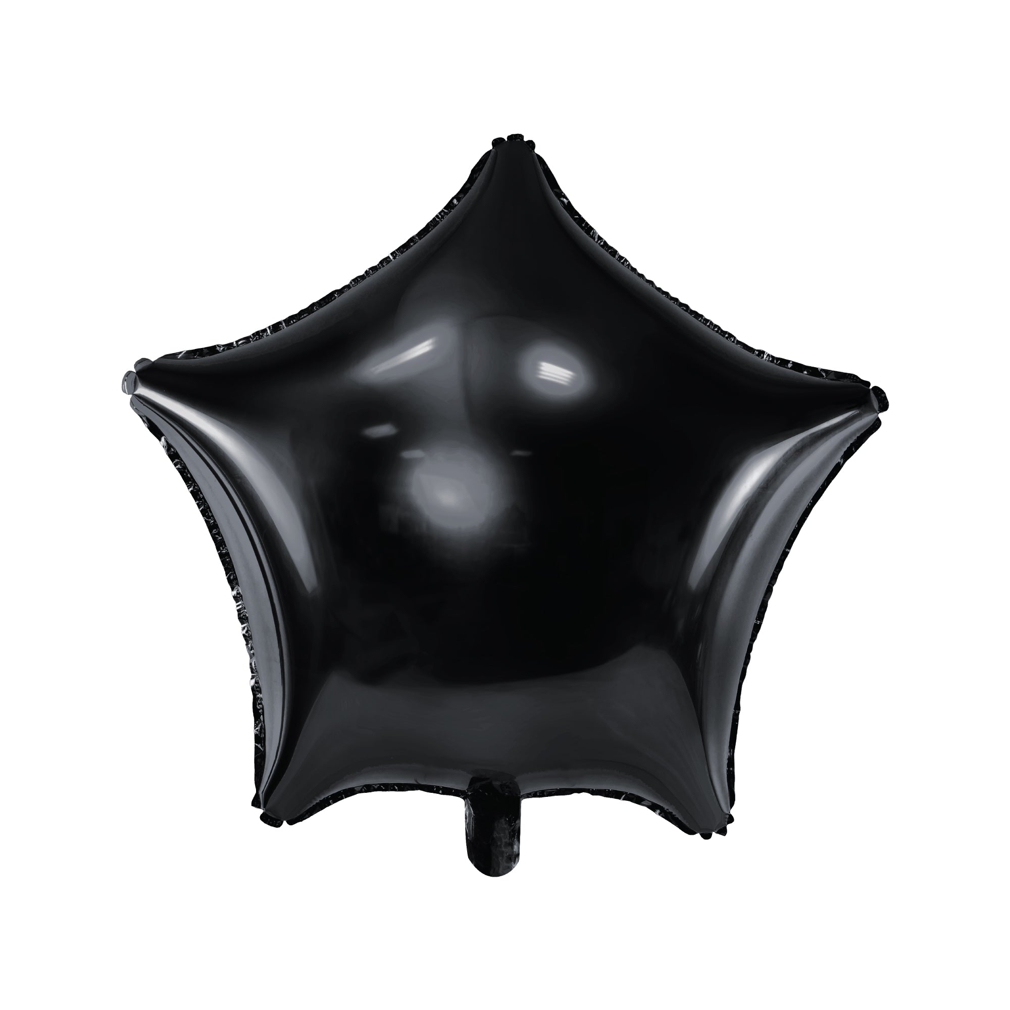 Black Star Foil Balloon 19""