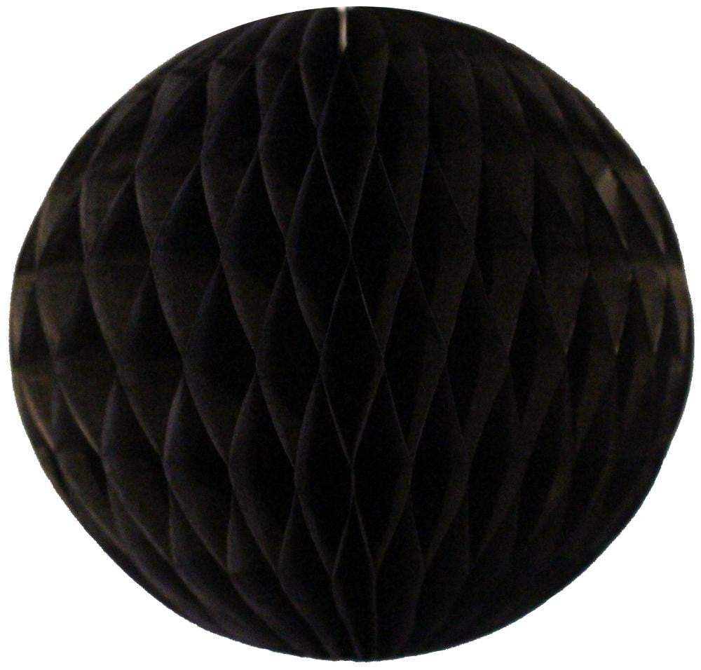 Black Honeycomb Tissue Ball