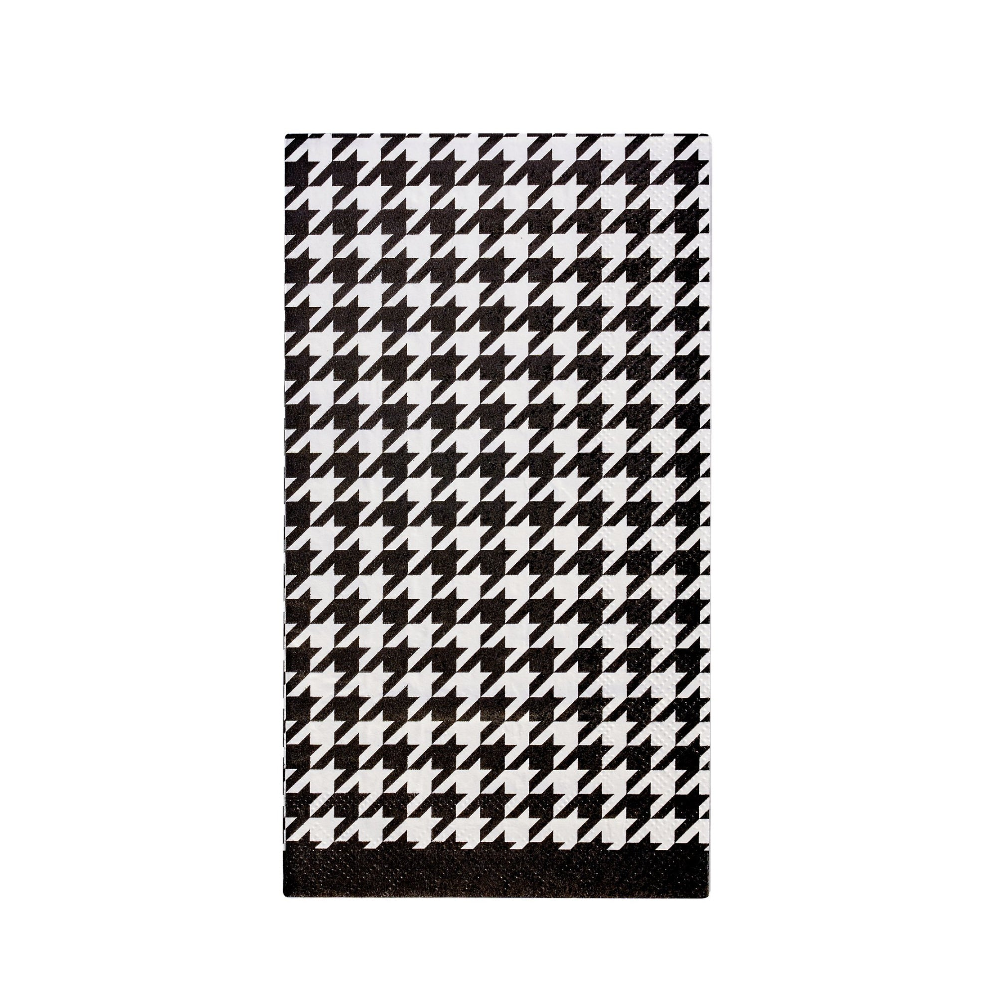 Blanc & Noir Paper Guest Towels 20ct | The Party Darling