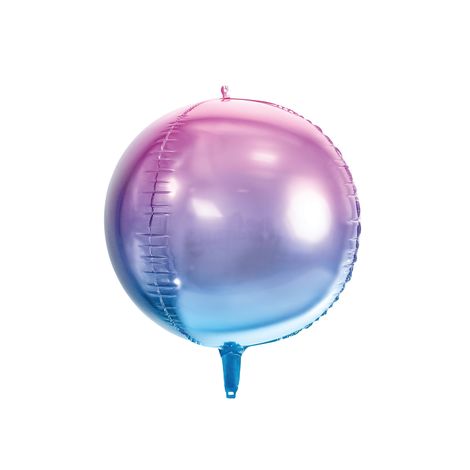 Blue & Purple Ombre Ball Balloon 14""