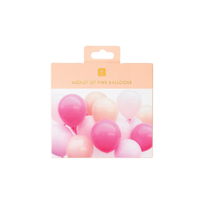 Blush and Pink Latex Balloons