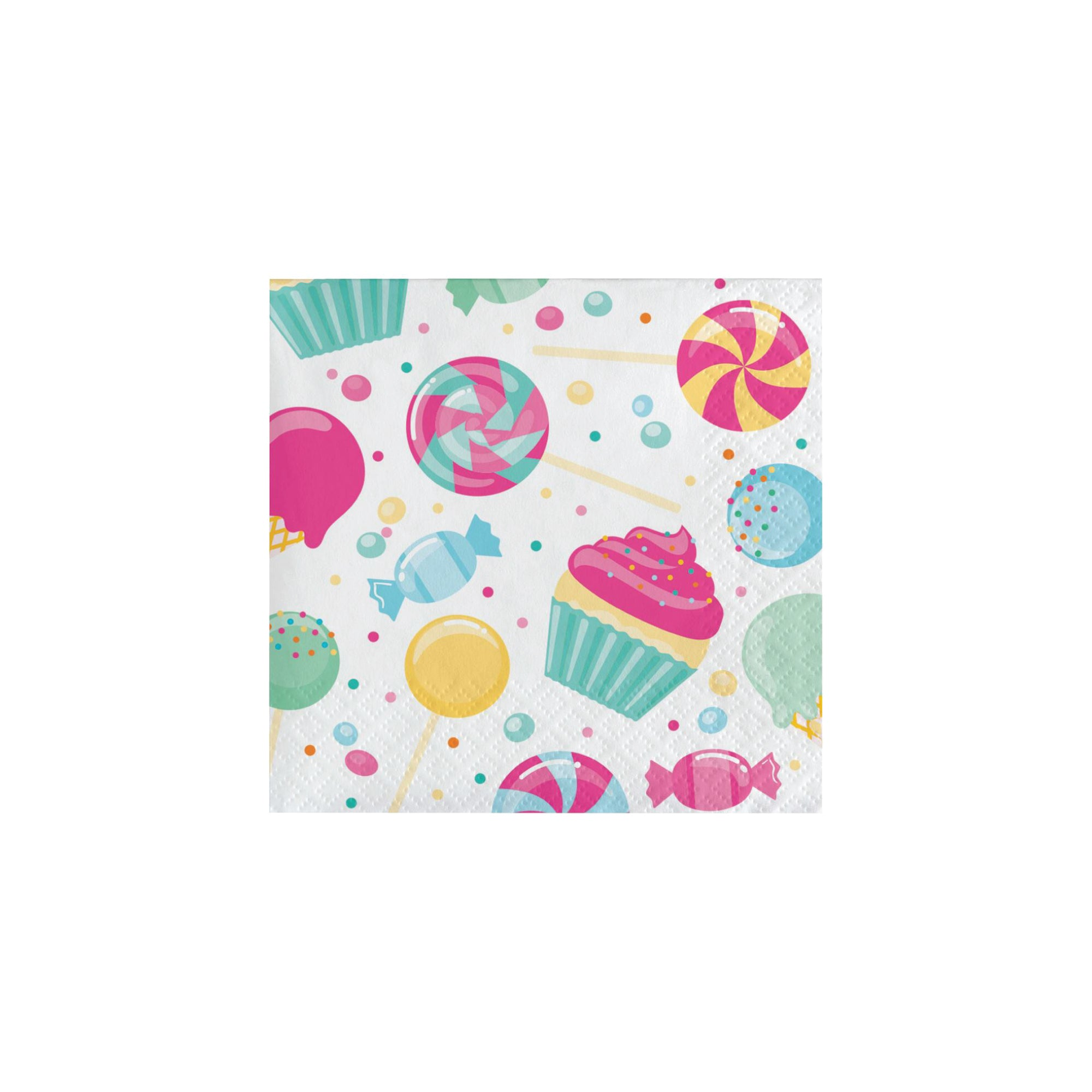 Candy Shop Dessert Napkins 16ct | The Party Darling