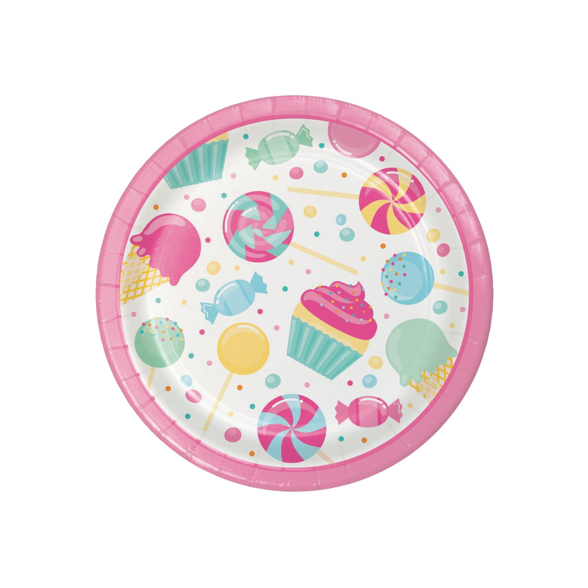 Candy Shop Dessert Plates 8ct | The Party Darling