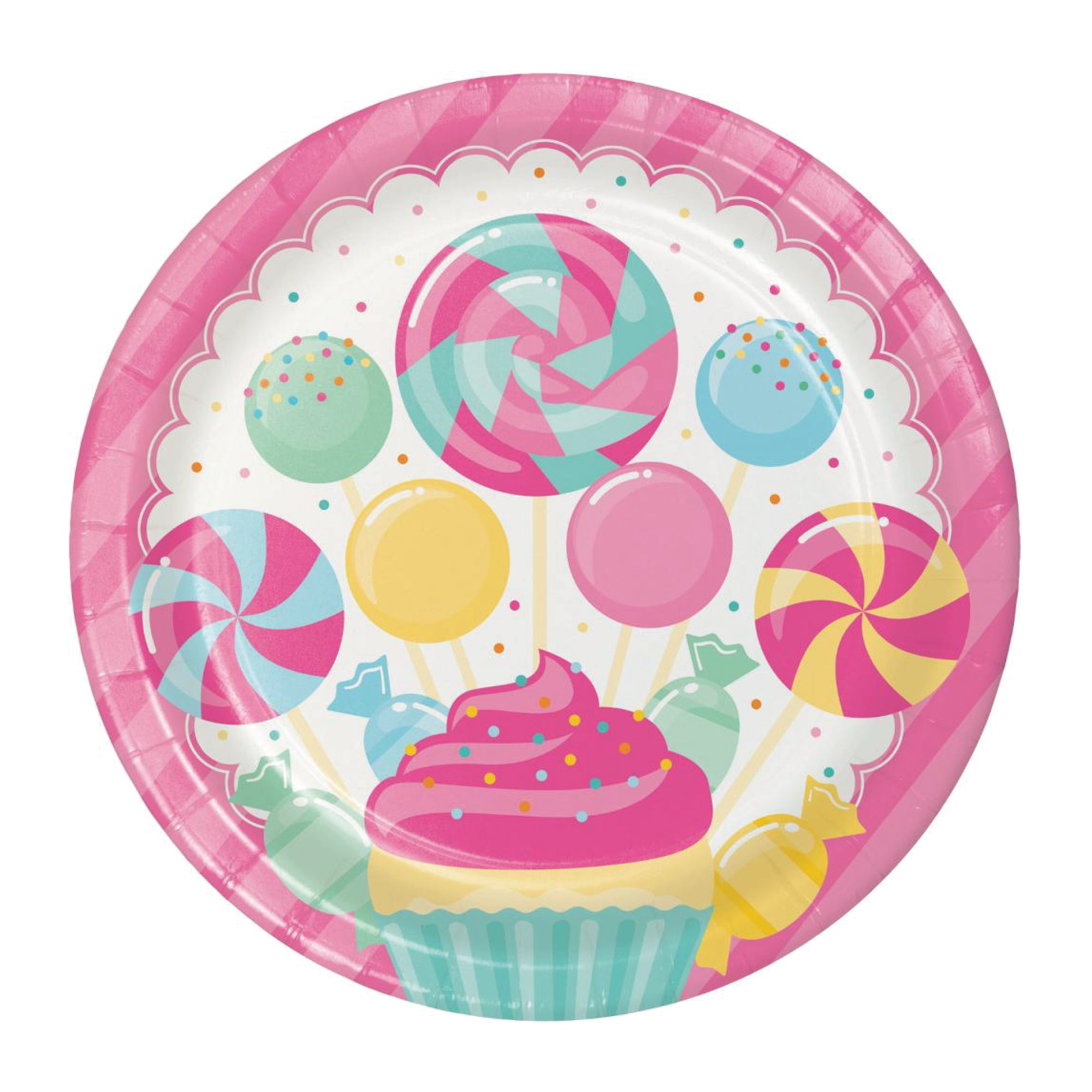 Candy Shop Lunch Plates 8ct | The Party Darling
