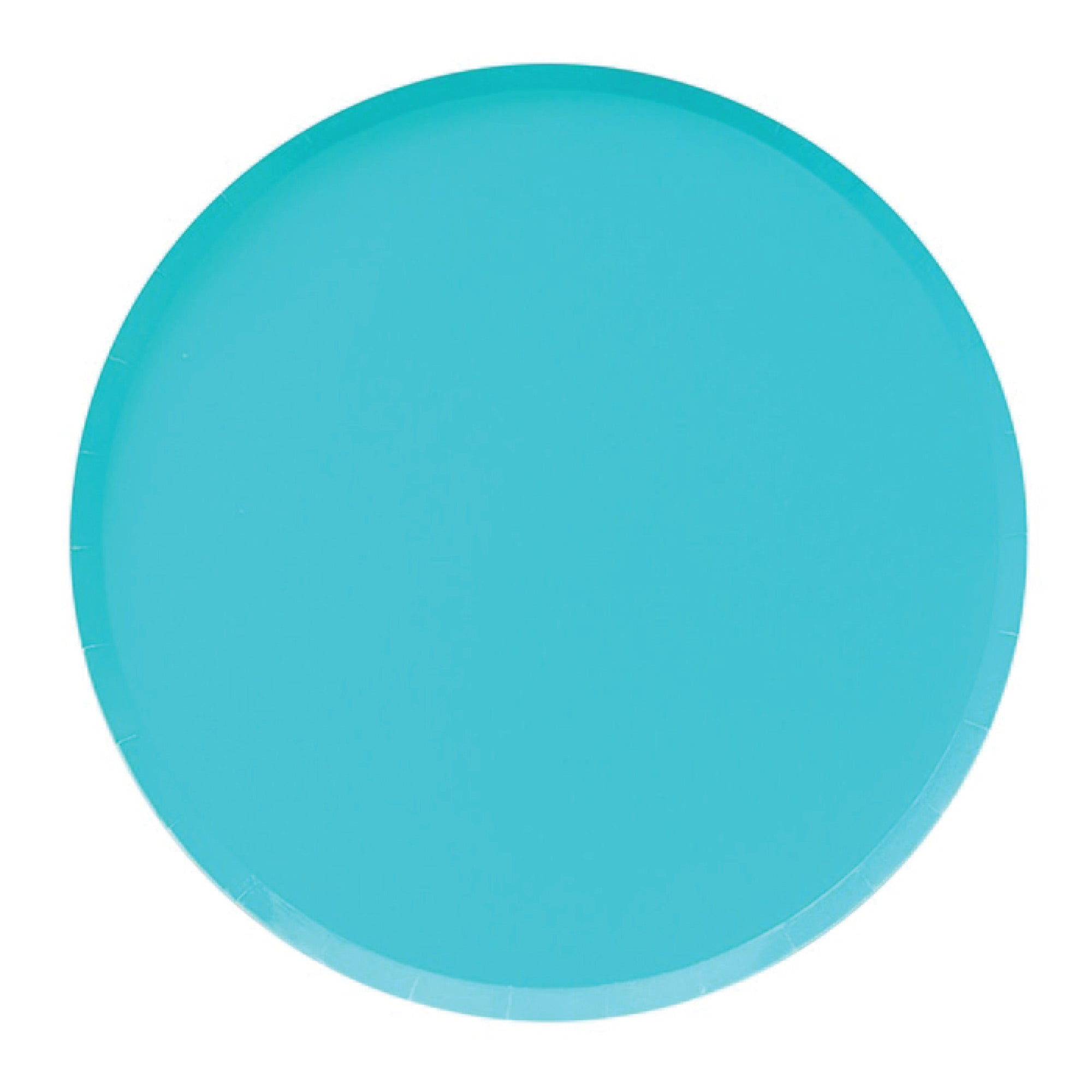 Cyan Blue Lunch Plates 8ct | The Party Darling