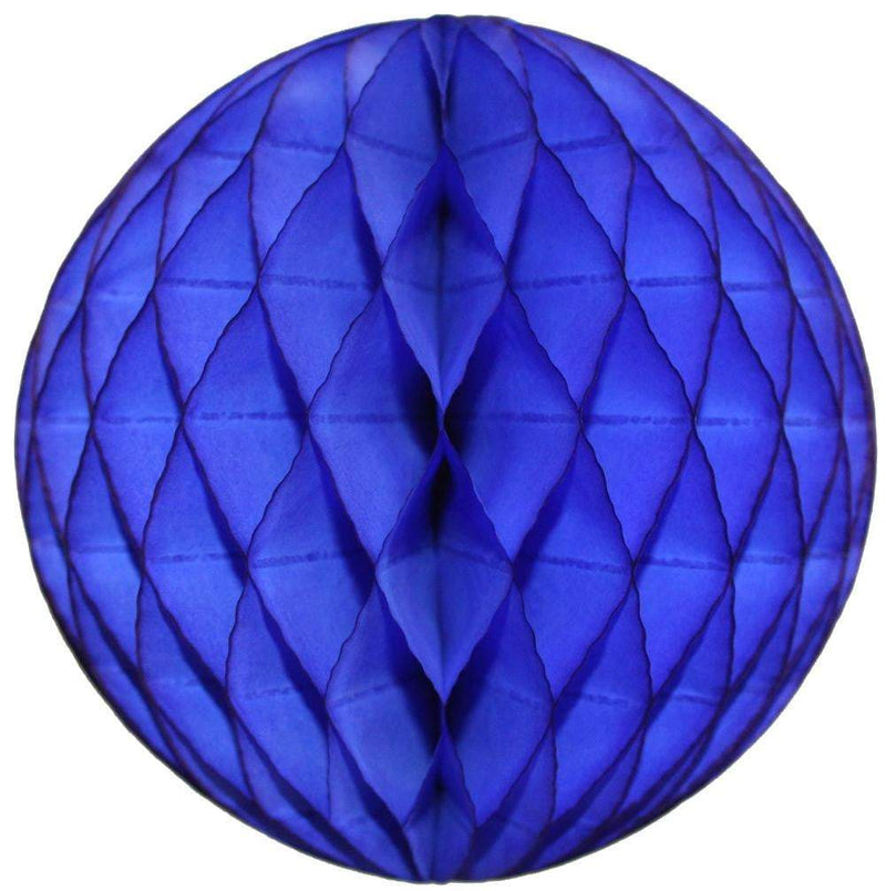 Dark Blue Honeycomb Tissue Ball