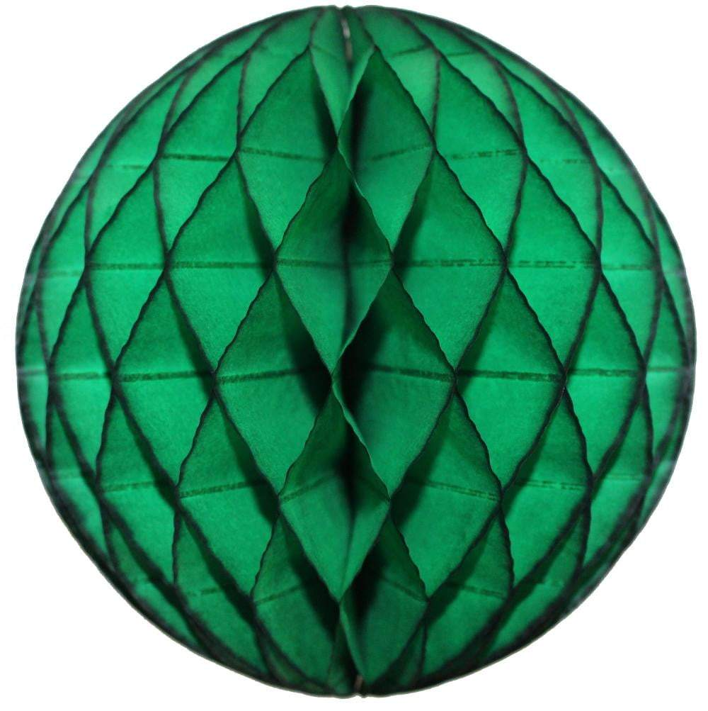 Dark Green Honeycomb Tissue Ball