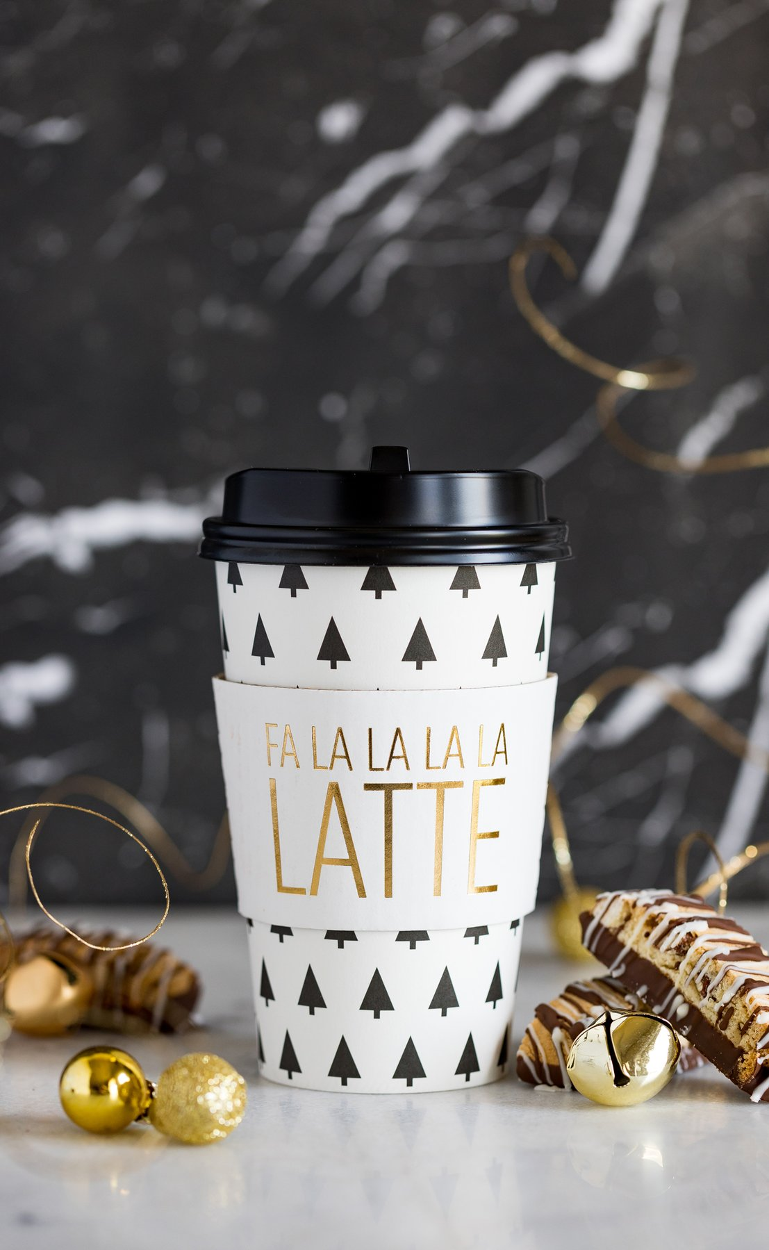 Fa La La La Latte Coffee Cups | The Party Darling