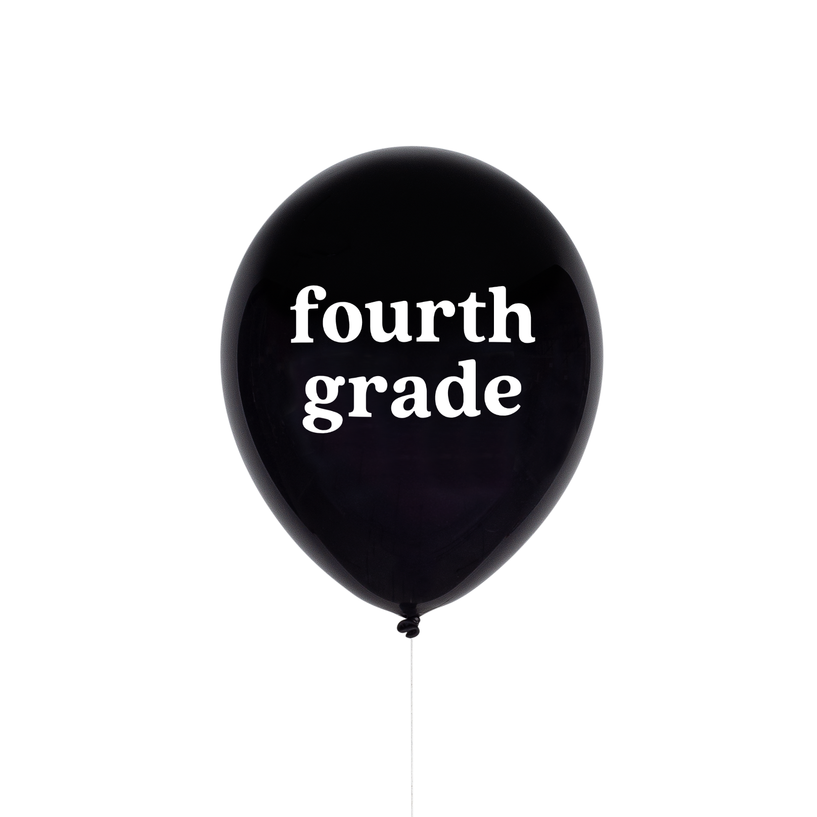Fourth Grade School Balloon | The Party Darling