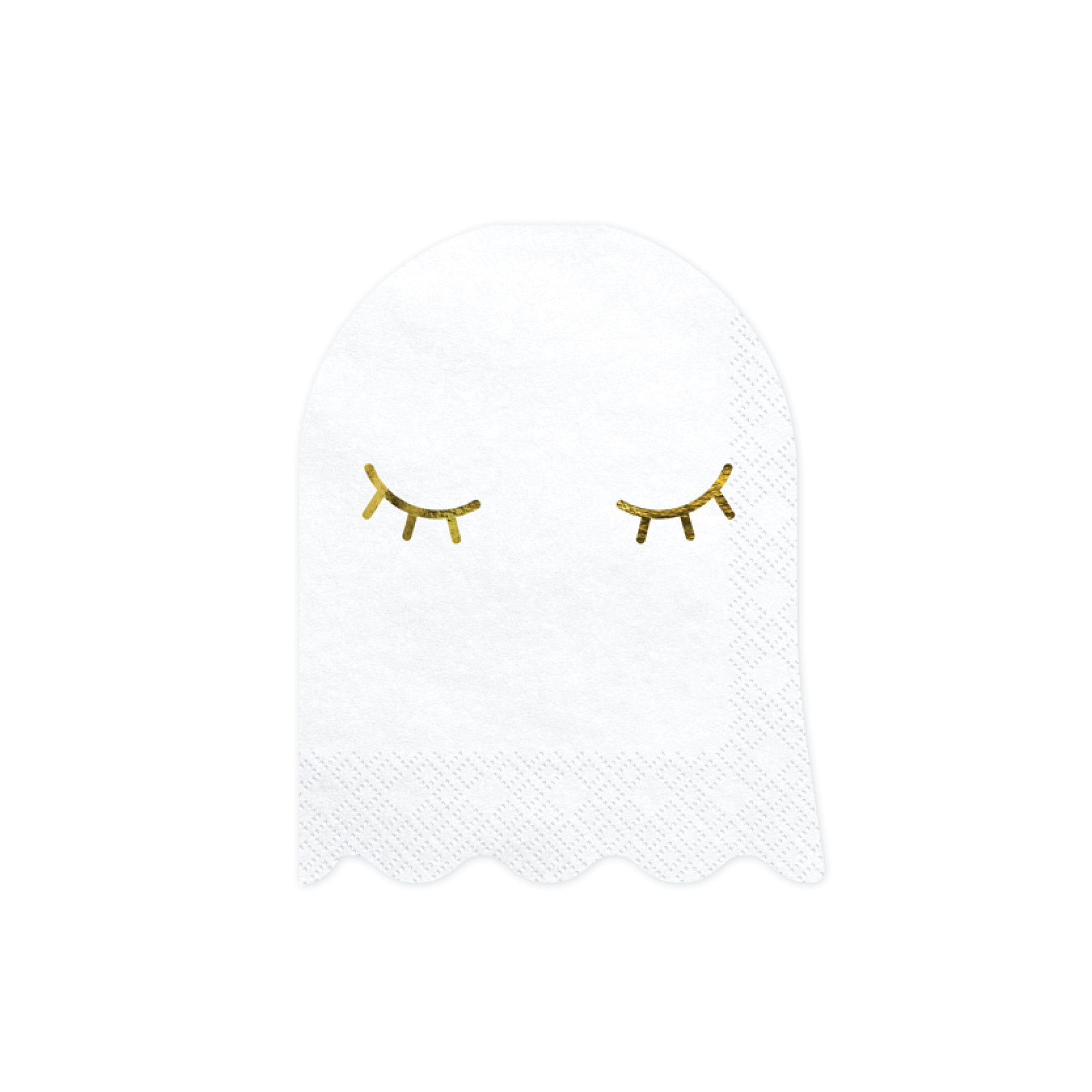 White Ghost Beverage Napkins | The Party Darling  Edit alt text