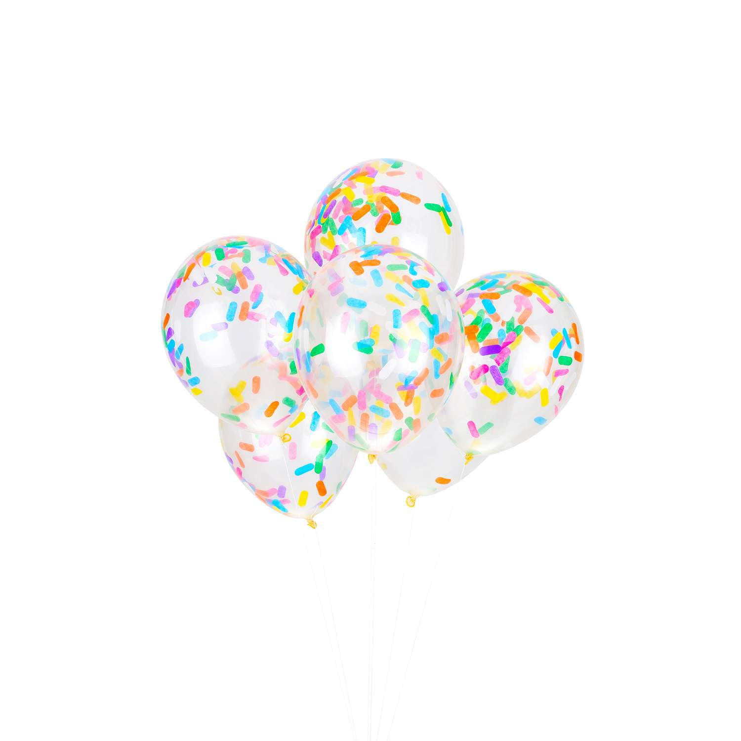 Ice Cream Bright Sprinkles Confetti Balloon Bouquet