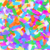 Ice Cream Bright Sprinkles Confetti