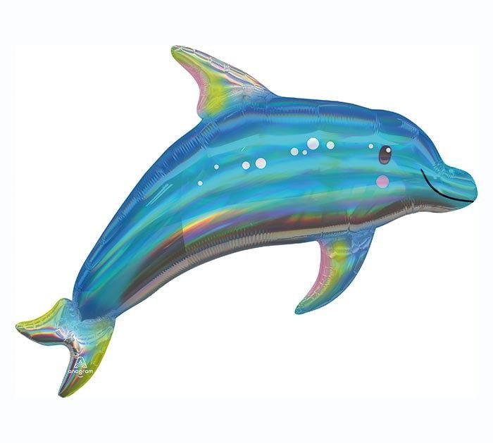 "29"" Giant Dolphin Balloon"
