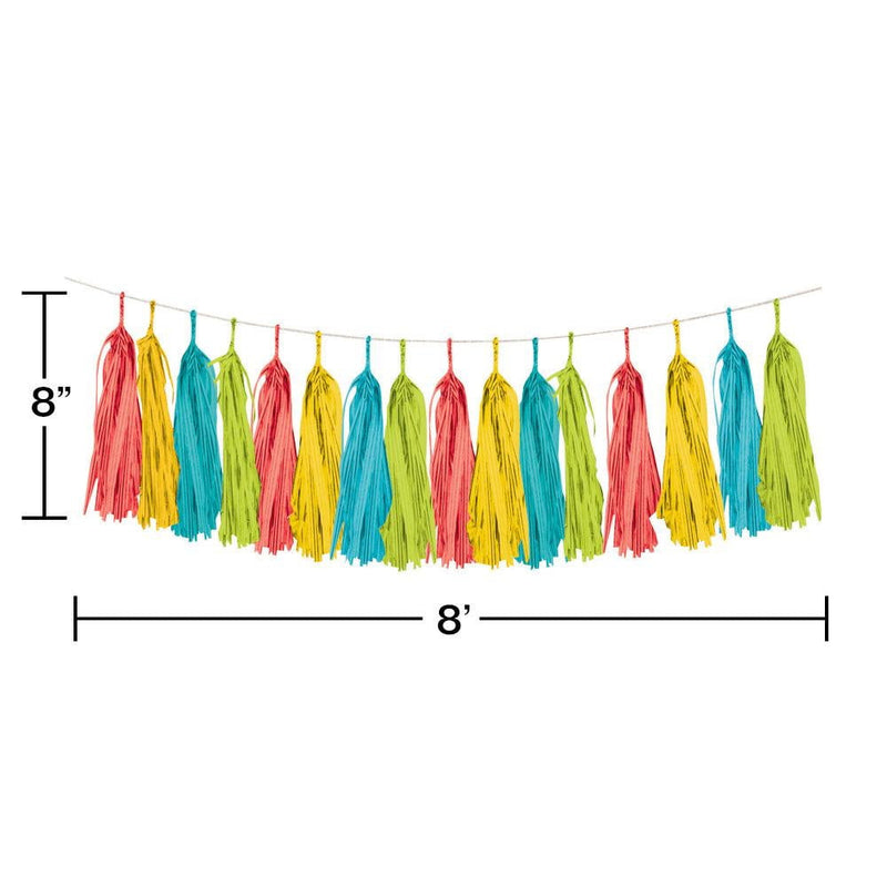 Fiesta Tassel Garland 8ft