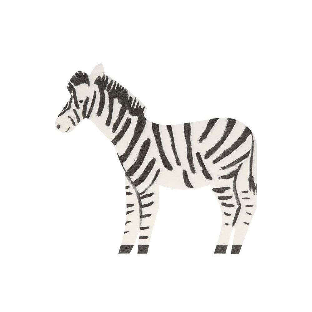 Safari Zebra Lunch Napkins