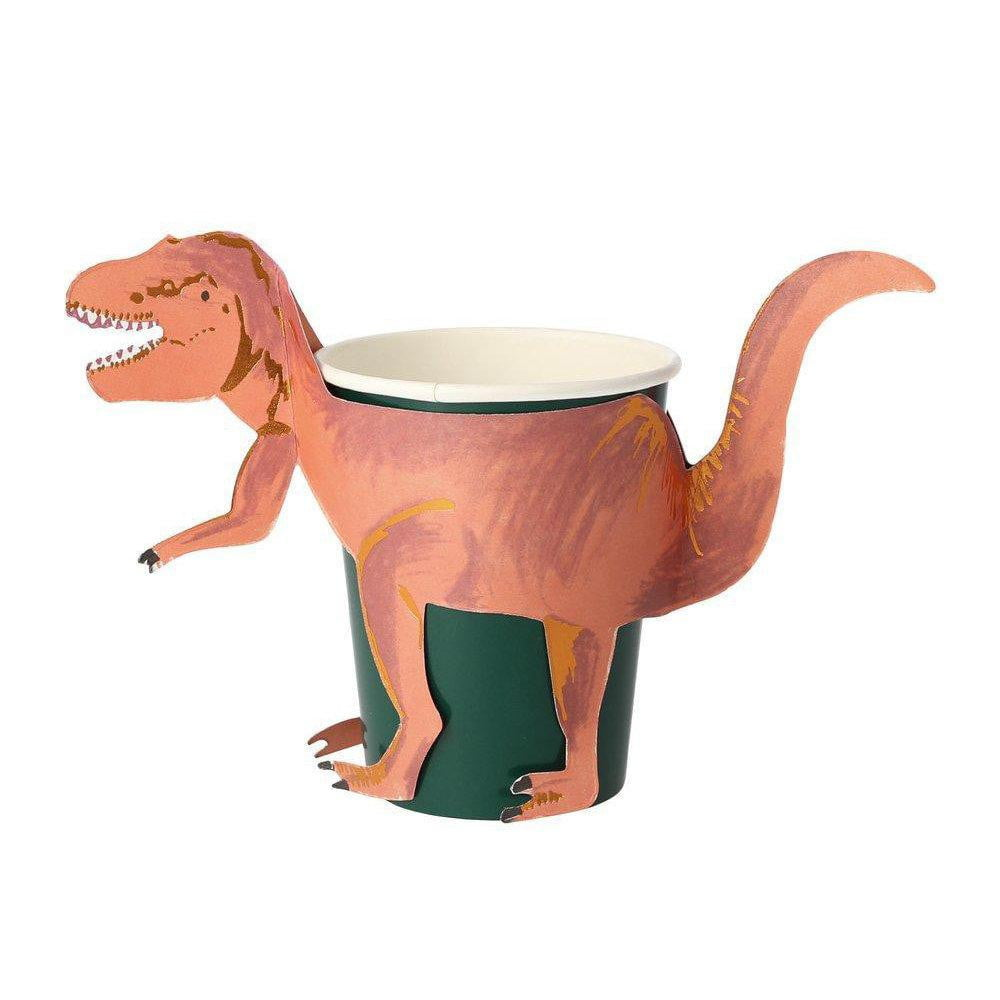 Dinosaur T-Rex Party Cups