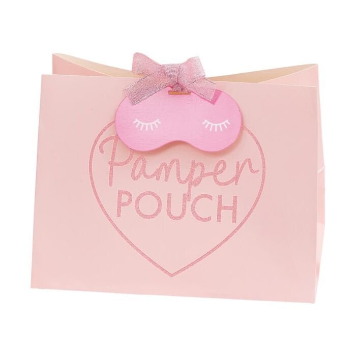 Pink Pamper Pouch Favor Bags