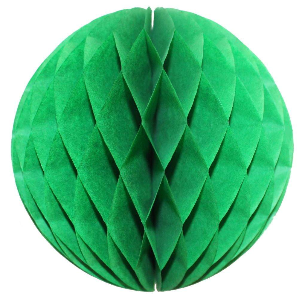 Light Green Honeycomb Tissue Ball