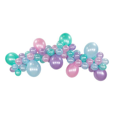 Mermaid DIY Balloon Garland Kit 6ft