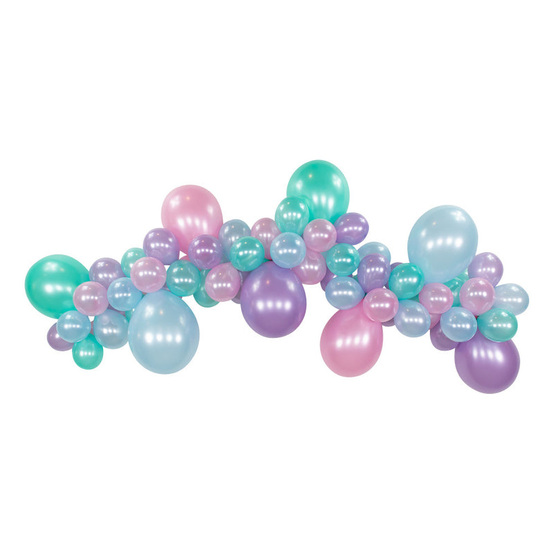 Mermaid DIY Balloon Garland Kit 6ft | The Party Darling