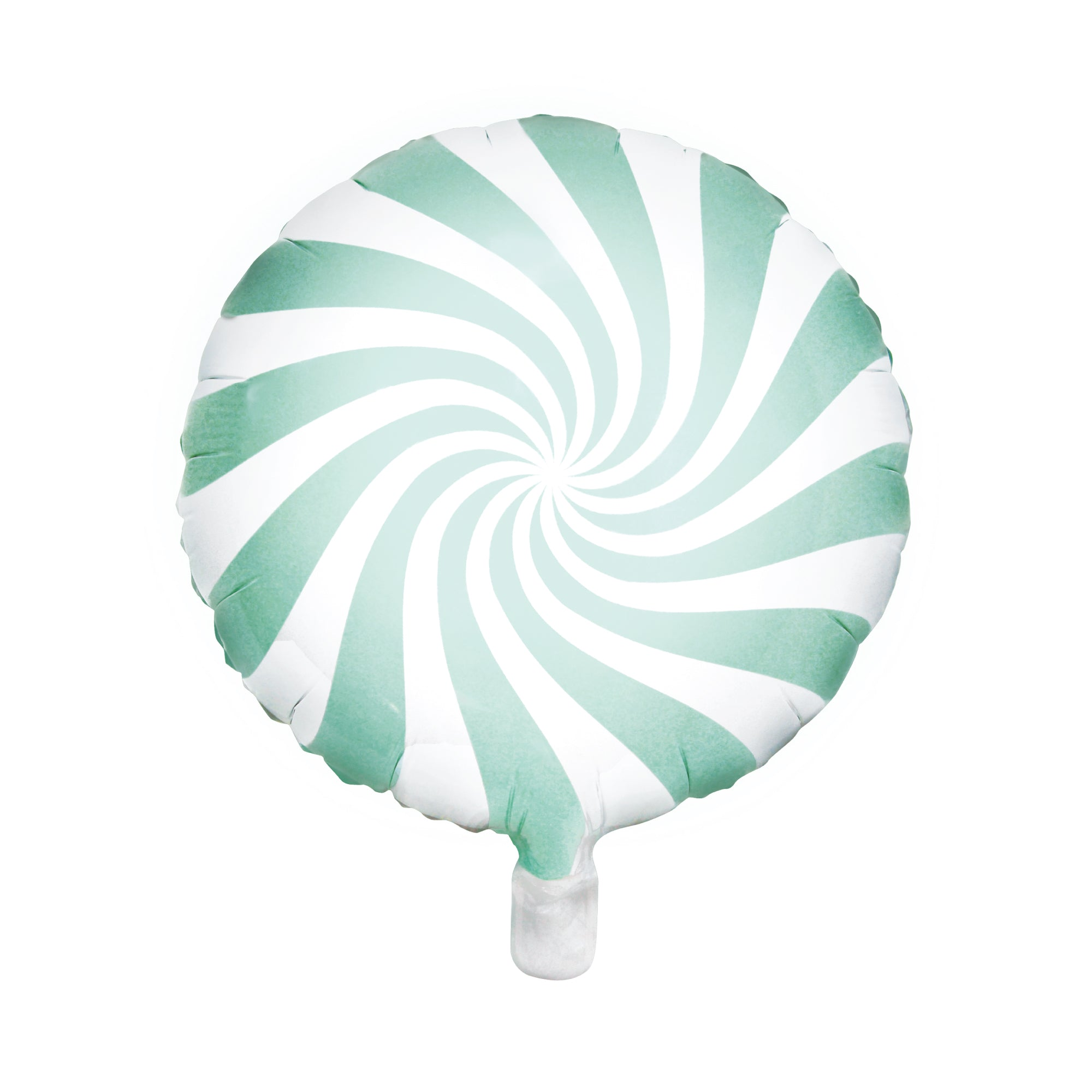 Mint Green Swirly Lollipop Foil Balloon 18"