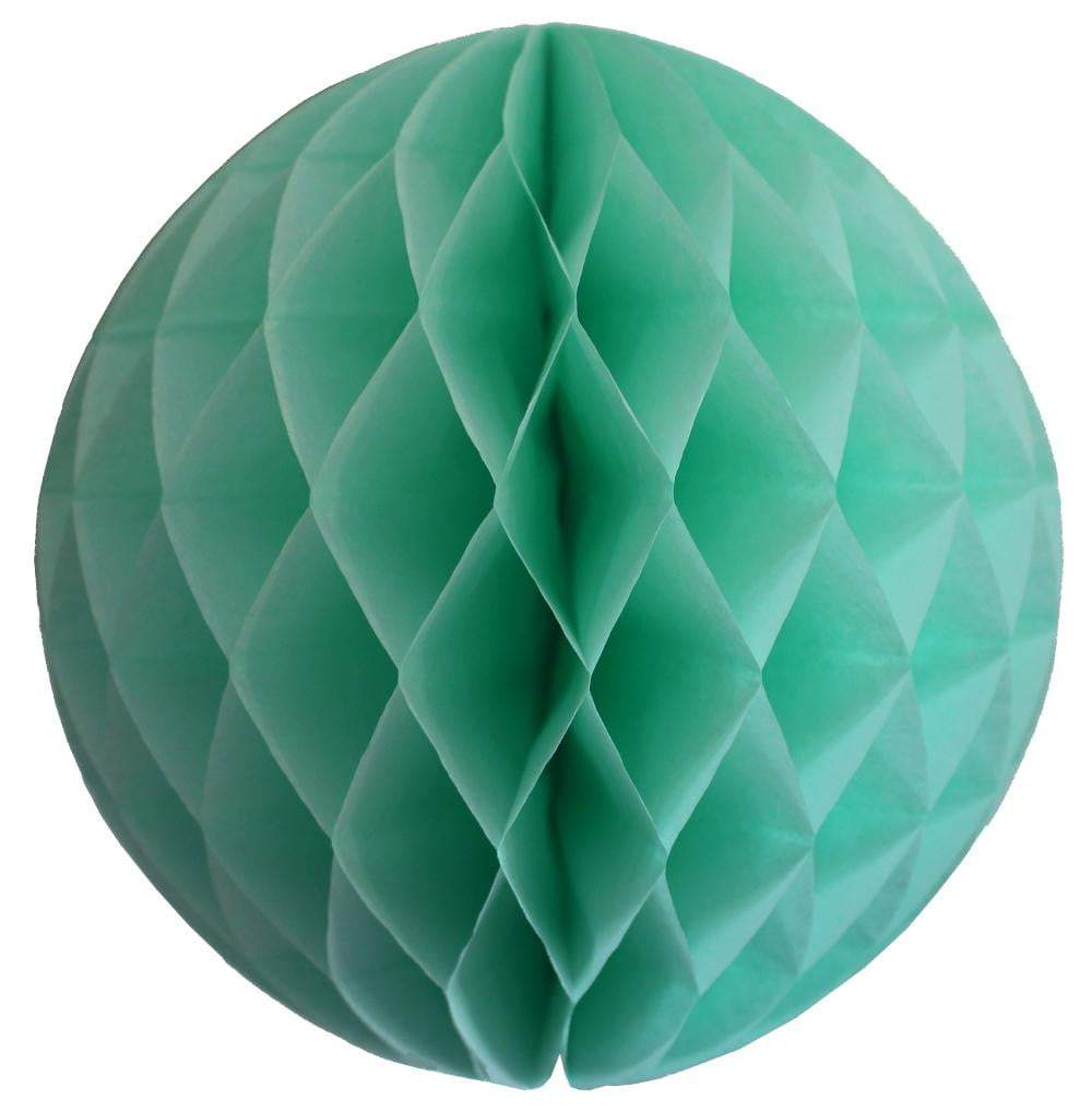 Mint Green Honeycomb Tissue Ball