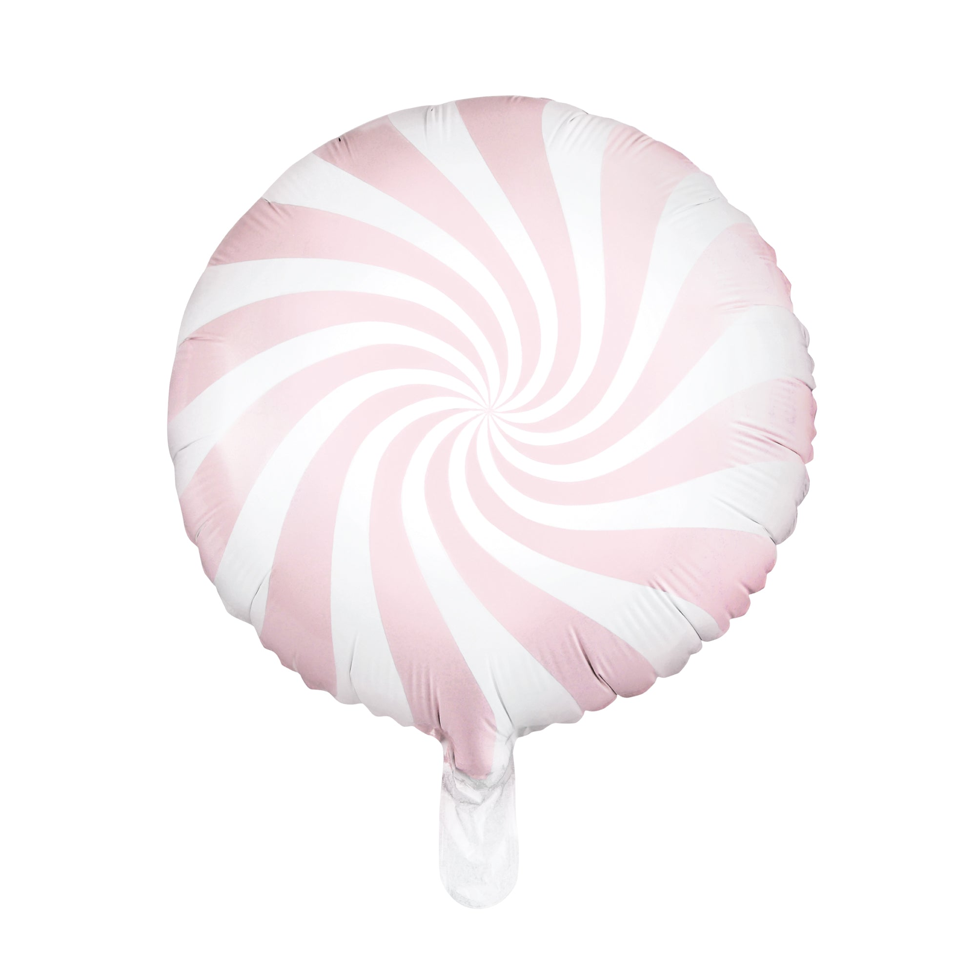 Light Pink Swirly Lollipop Foil Balloon 18"