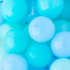 Poolside Blue Mini Balloons