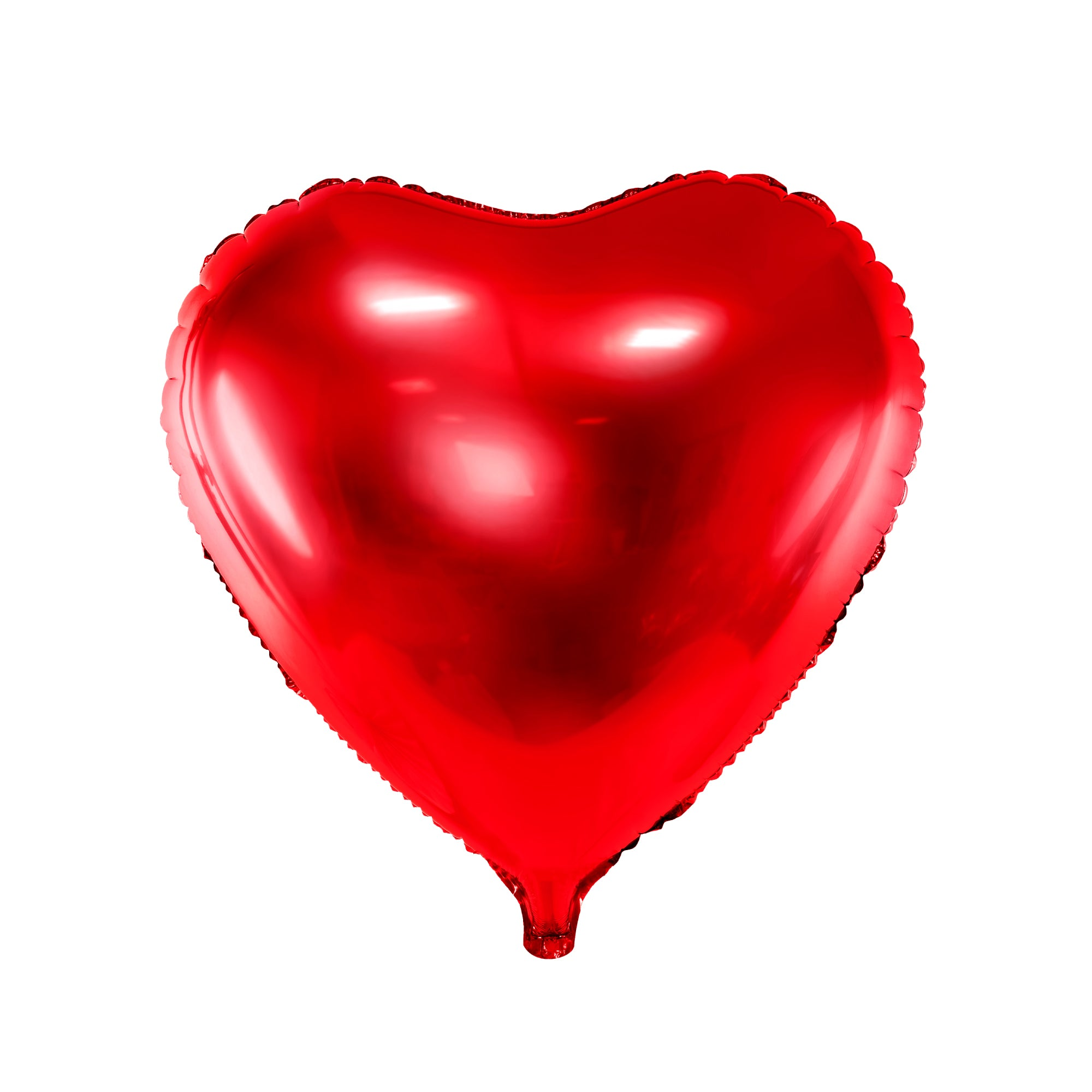 Red Heart Foil Balloon 18"