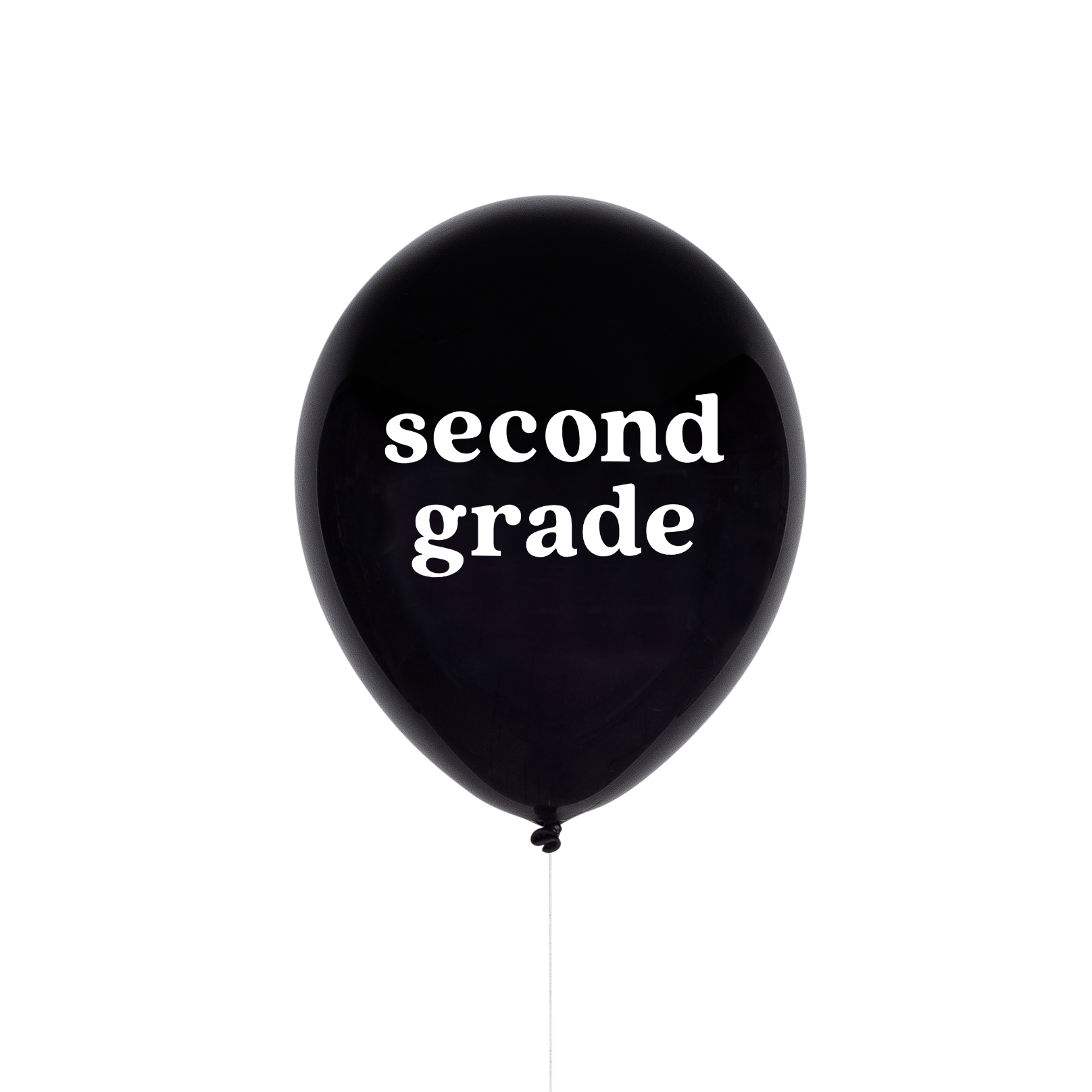 Second Grade School Balloon | The Party Darling