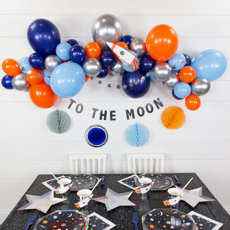 Space DIY Balloon Garland