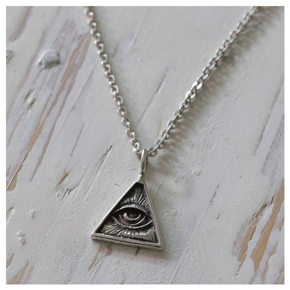 Illuminati Pendant Necklace